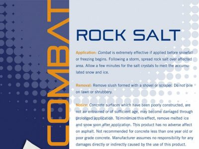 Sell Sheets - Combat Rock Salt gallery of work, marketing with Bare Bones Marketing.