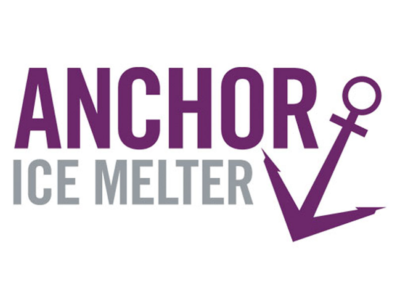 Anchor Ice Melter Logo Design - Branding agency Bare Bones Marketing in Oakville, Ontario.
