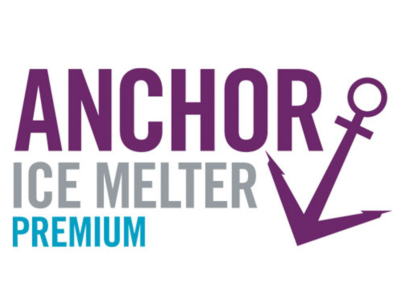 Anchor Ice Melter Premium Logo Design - Branding agency Bare Bones Marketing in Oakville, Ontario.