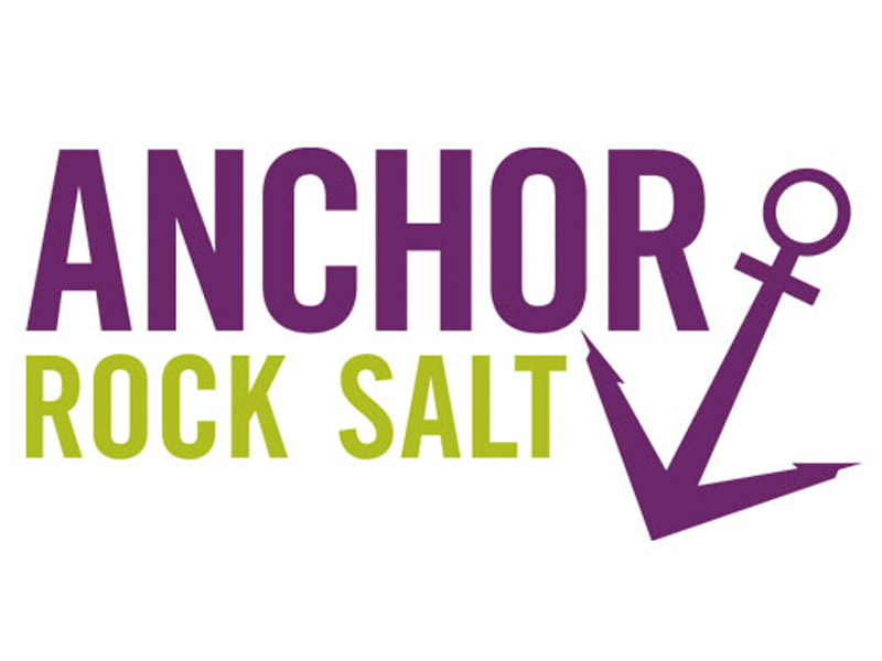 Anchor Rock Salt Logo Design - Branding agency Bare Bones Marketing in Oakville, Ontario.