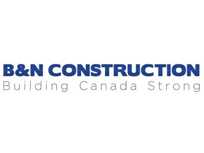 B&N Construction Logo Design - Branding agency Bare Bones Marketing in Oakville, Ontario.