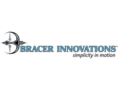 Bracer Innovations Logo Design - Branding agency Bare Bones Marketing in Oakville, Ontario.