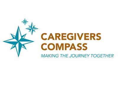 Caregiver's Compass Logo Design - Branding agency Bare Bones Marketing in Oakville, Ontario.