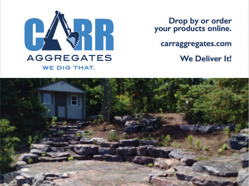 Carr Aggregates Ad - Print branding at Bare Bones Marketing in Oakville, Ontario.