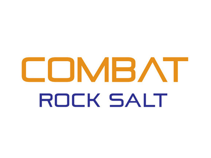 Combat Rock Salt Logo Design - Branding agency Bare Bones Marketing in Oakville, Ontario.