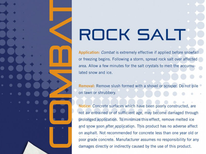 Combat Sell Sheet - Marketing Design, Bare Bones Marketing in Oakville, Ontario.
