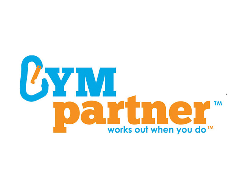 GymPartner Logo Design - Branding agency Bare Bones Marketing in Oakville, Ontario.