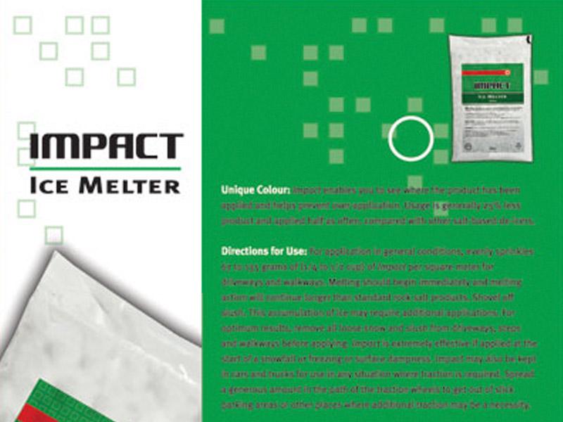 Impact Sell Sheet - Marketing Design, Bare Bones Marketing in Oakville, Ontario.