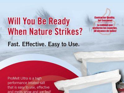ProMelt Ad Design - Print branding at Bare Bones Marketing in Oakville, Ontario.