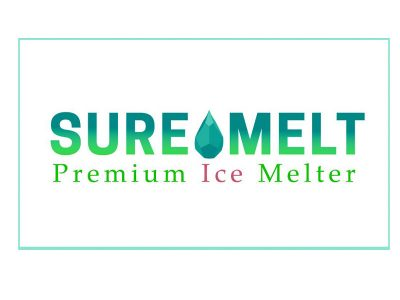 Sure Melt Logo Design - Branding agency Bare Bones Marketing in Oakville, Ontario.