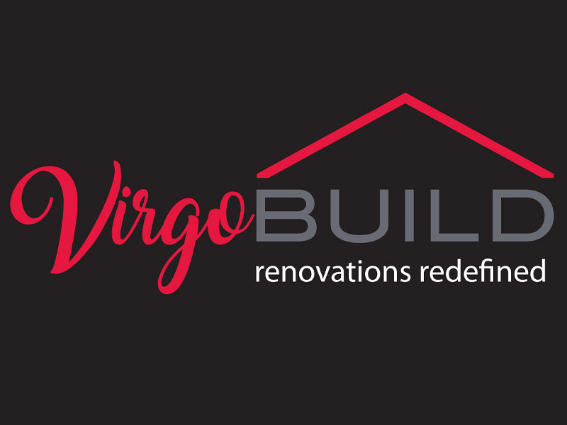 VirgoBuild Logo Design - Branding agency Bare Bones Marketing in Oakville, Ontario.