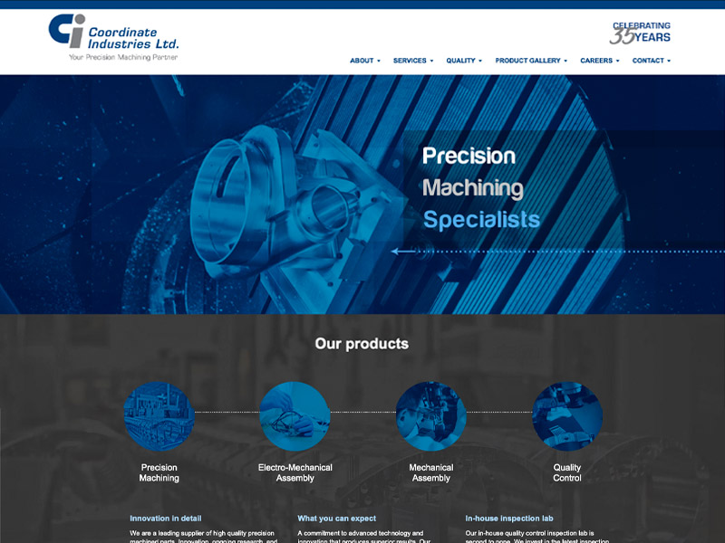 CI Web Development - Web Design with Bare Bones Marketing in Oakville, Ontario.