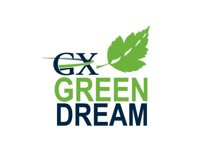 Logo Design - GX Green Dream at Bare Bones Marketing in Oakville, Ontario.