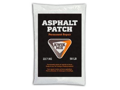 Asphalt Patcg Bag - Packaging Design with Bare Bones Marketing in Oakville, Ontario.