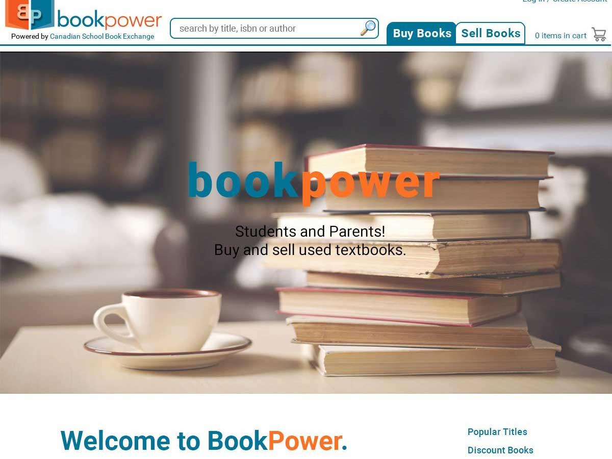 Web Design - Book Power web development with Bare Bones Marketing in Oakville, Ontario.