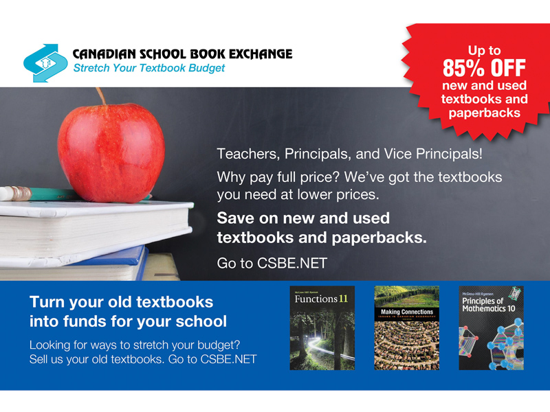 CSBE Postcard Front Design - branding with Bare Bones Marketing in Oakville, Ontario.