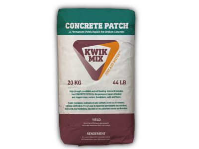 Concrete Patch Bag - Packaging Design with Bare Bones Marketing in Oakville, Ontario.