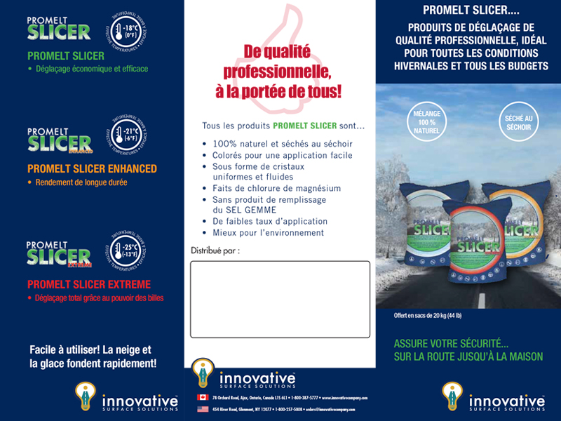 Innovative - Brochure design with Bare Bones Marketing in Oakville, Ontario.