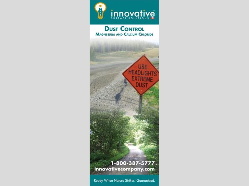 Banner & Signs - Innovative Dust design, Bare Bones Marketing in Oakville, Ontario.