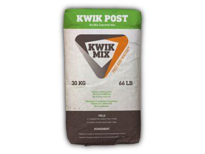 Kwik Mix Post Bag - Packaging Design with Bare Bones Marketing in Oakville, Ontario.