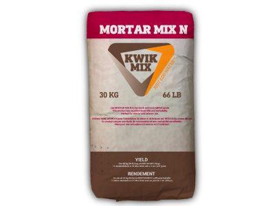 Kwik Mix Mortar Mix N - Packaging Design with Bare Bones Marketing in Oakville, Ontario.
