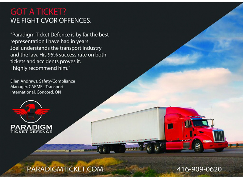 Postcard Design - Paradigm Ticket Defence front view with Bare Bones Marketing.