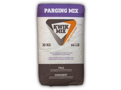 Kwik Mix Parging Mix - Packaging Design with Bare Bones Marketing in Oakville, Ontario.
