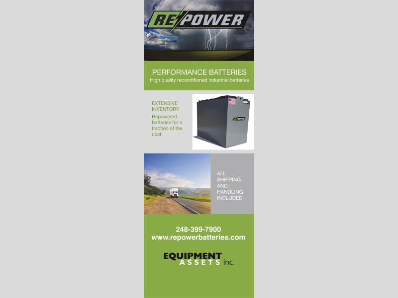 Banners & Signs - Repower design, Bare Bones Marketing in Oakville, Ontario.
