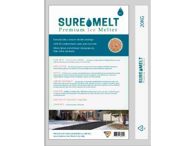 Sure Melt - Packaging Design with Bare Bones Marketing in Oakville, Ontario.