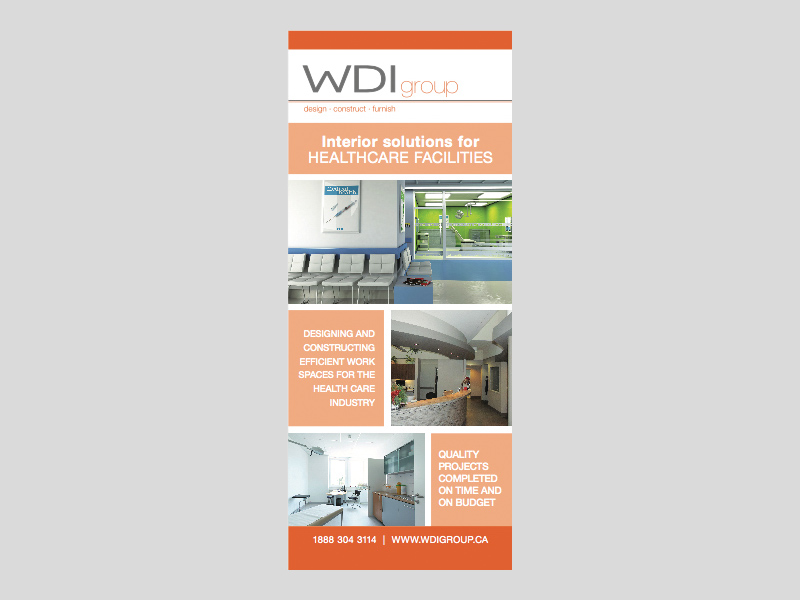 Banners & Signs - WDI Group design, Bare Bones Marketing in Oakville, Ontario.