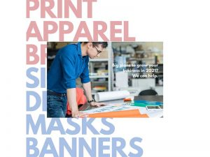 Social Marketing content - Print apparel social ad at Bare Bones Marketing in Oakville, Ontario.