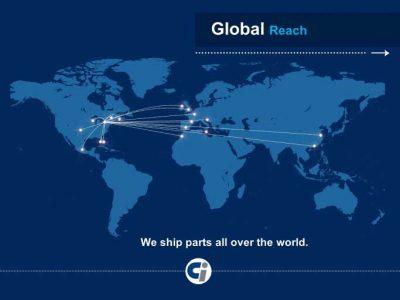 CI Global Reach - Sales Presentations at Bare Bones Marketing in Oakville, Ontario.